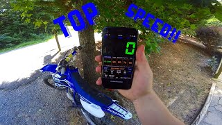 Here's How Fast A Yz85 Can Go (OFFICIAL Top Speed)