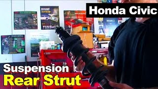 2001 Honda Civic Rear Strut Replacement