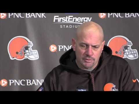 'It's a kick in the gut' said Mike Pettine after the Browns loss to the Colts