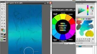 Bikini babe Painter X tutorial 15 parts