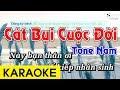 Cát Bụi Cuộc Đời - Karaoke Beat Chuẩn thumbnail