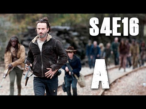 The Walking Dead Season 4 Episode 16 FINALE 'A' Review