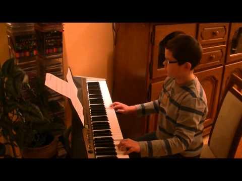 Gra Na Keyboardzie Piotrka #1 Ona Tańczy Dla Mnie