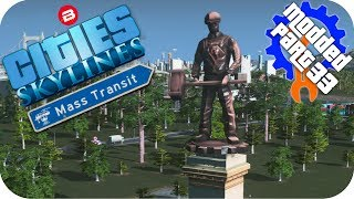 Cities Skylines Gameplay: STATUE OF INDUSTRY TIME? Cities: Skylines Mods MASS TRANSIT DLC Part 33