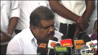 Vasan on Alliance with BJP - Dinamalar Nov 22nd 2014 Tamil Video News
