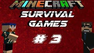 Minecraft Minigames | Survival Games | #3 Hijacking Kills