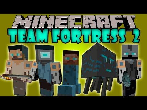 TEAM FORTRESS 2 MOD - Mobs Roboticos y armas epicas! - Minecraft mod 1.7.10 Review ESPAÑOL