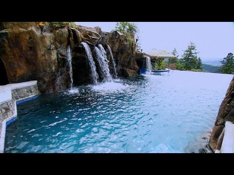 This Pool Will Make You Feel Like You're At The Beach! | The Pool Master
