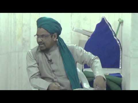 Gustakh e Rasool Ki Pahchan part8 at masjid e zubaida by mufti naiyer azam ashrafi