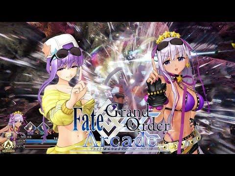 【Fate/Grand Order Arcade】魅惑のダークアイ サングラスBB実裝【転身霊衣】【BB】【FGOAC】【fgoアーケード】
