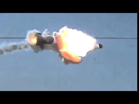 ADAM High Energy Laser Counter-Rocket Demonstration -