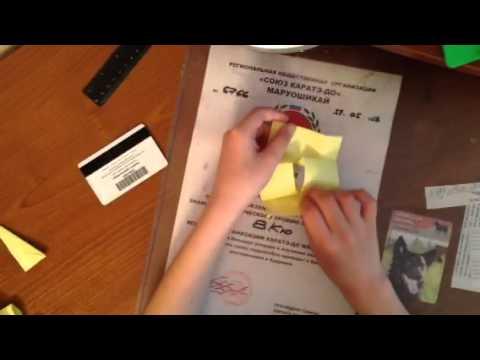 Как сделать крутые штуки из бумаги