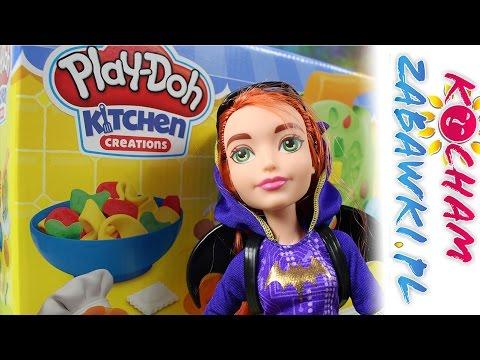 Superbohaterki i kuchnia włoska - DC Super Hero Girls & Play-Doh - Bajki i Kreatywne Zabawki