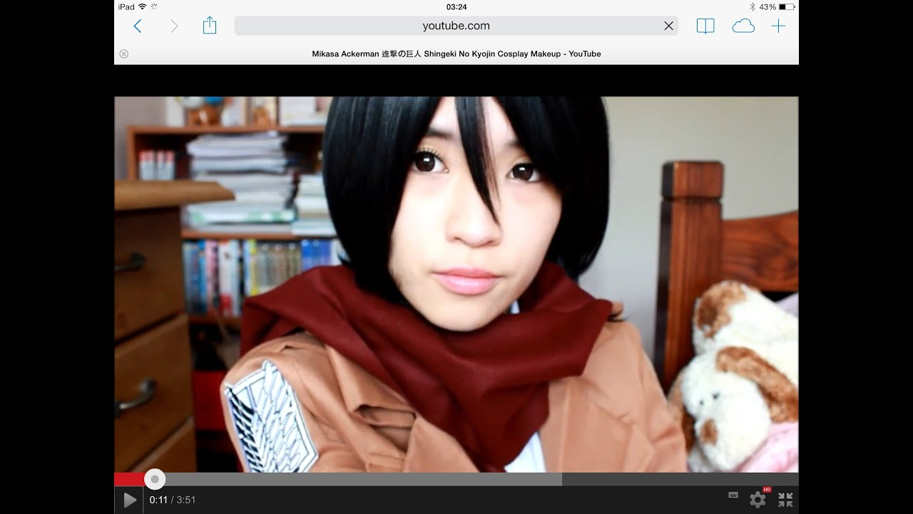 maxresdefault jpgMikasa Ackerman Cosplay Makeup