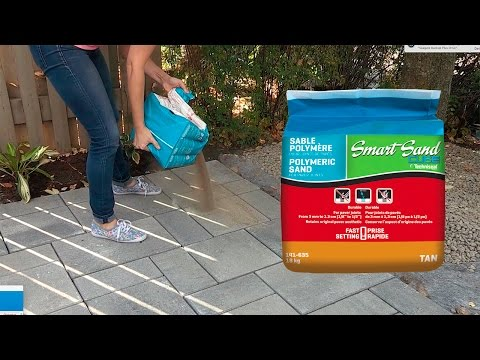 Install Smart Sand Polymeric Sand