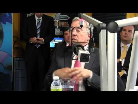 Alvaro Uribe expresidente Colombiano en Elsoldelamañana parte1