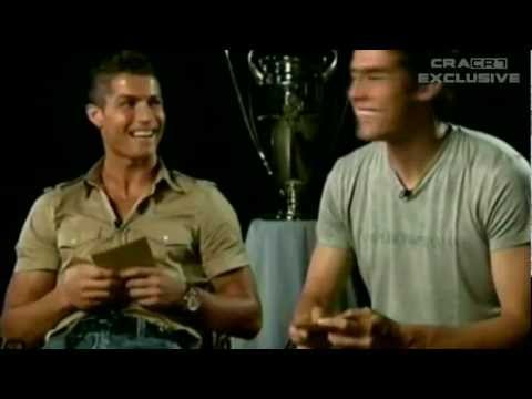 *CRISTIANO RONALDO FUNNY INTERVIEWS AND LAUGHS*