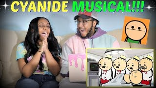 "Cyanide & Happiness Compilations ""Barbershop Quartet Day"" REACTION!!!"