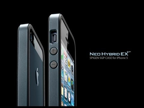 iPhone 5s Spigen sgp bumper case review Neo Hybrid EX slim & more *new color* Metal slate