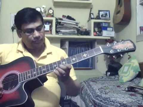 Tum bin jaoon kahan solo on Guitar