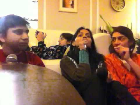 Mike Nandini & Dolly singing Suraj Hua Madham