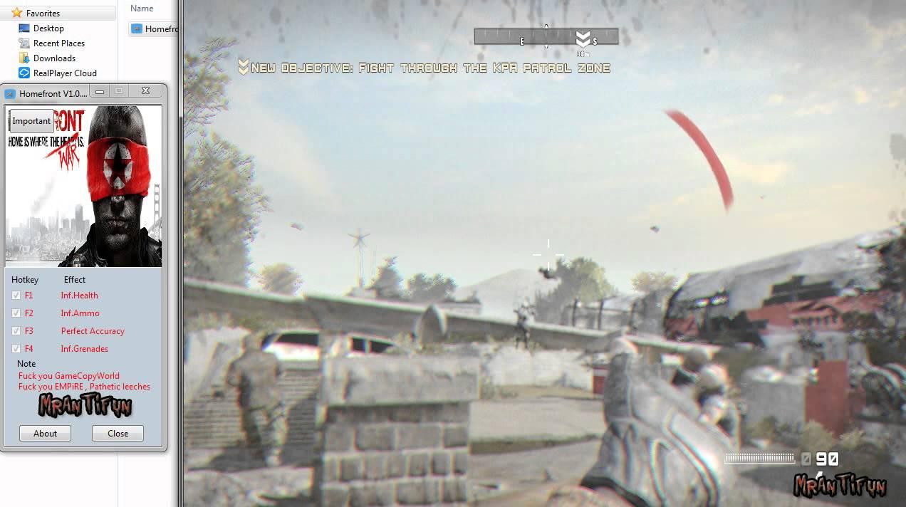 Homefront: the revolution: трейнер/trainer (+10) 10 - update: 06032017 fling