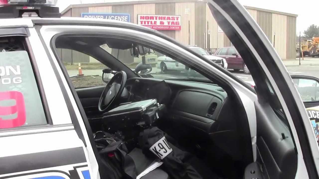 Inside The Police Car Youtube