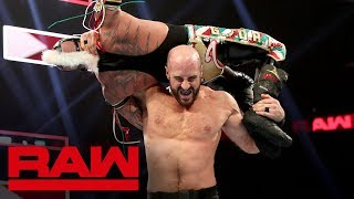 Rey Mysterio vs. Cesaro: Raw, Sept. 16, 2019