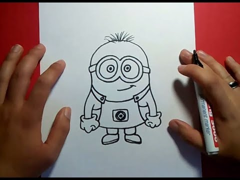 Como Dibujar Un Minion Paso A Paso - Gru Mi Villano Favorito | How To Draw A Minion video