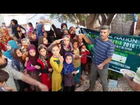 DAY 18 #IFTAR1000 DAILY IFTAR MEALS IN SYRIA RAMADAN 2016