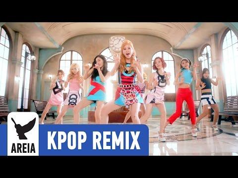 Girls' Generation - Lion Heart | Areia Kpop Remix #193