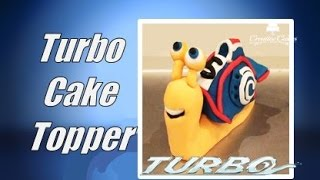 'Turbo' the snail cake topper! (How to make)