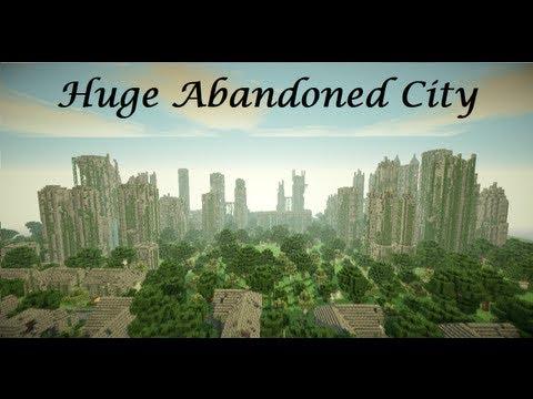 Minecraft Cinematic Huge Abandoned City