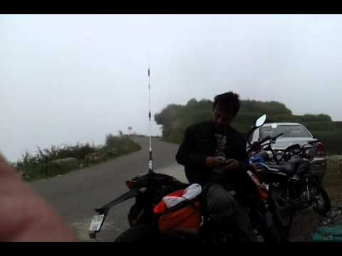 Proper VHF Portal Bike Mobile by VU2MUE...filmed by VU2YEP