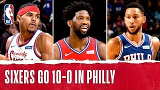 Sixers Keep Rolling, Extend Home Win Streak to 10!