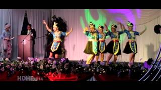 Fresno Hmong International New Year 2014 Dance Competition Round 3 - NTXHAIS NKAUJ ZAG