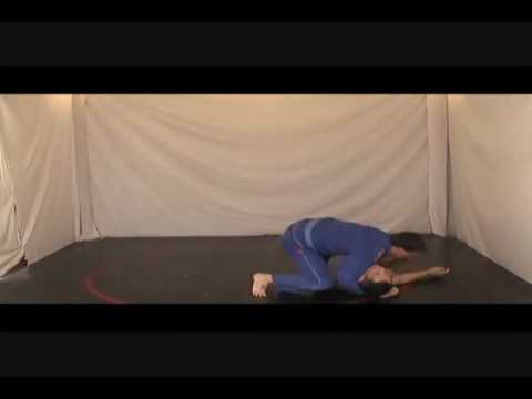 BJJ Training Drills- How to Do a Back Take and Choke Flow Drill Image 1