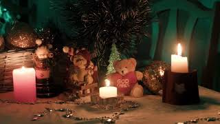 Beautiful Compilation of Christmas Tree and Presents with a Relaxing Christmas Music HD 1080P