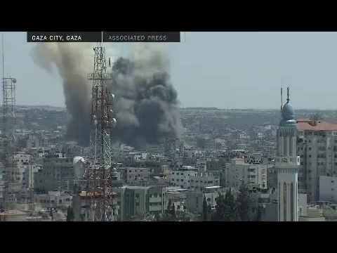 Strikes Resume in Gaza Strip