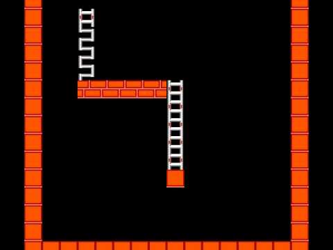 Lode Runner - Lode Runner NES very fast level build (tool assisted) - User video
