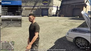 Grand thef auto Ps4 Car meet muscle cars and 4x4 truck