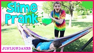 Slime Pranks On My Family / JustJordan33
