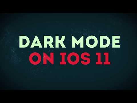 How to Enable Dark Mode in iOS 11 - iPhone & iPad
