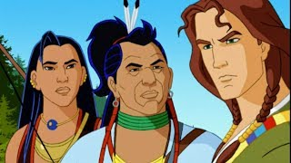 LAST OF MOHICANS FIRES OF WAR | The entire movie for children in English | TOONS FOR KIDS | EN