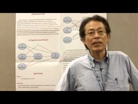 2013 APS Convention Video: A stimulus/traits-organism-response (S/T-O-R) model of job satisfaction