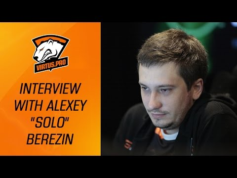 VP at the Boston Major: Interview with Alexey Solo Berezin