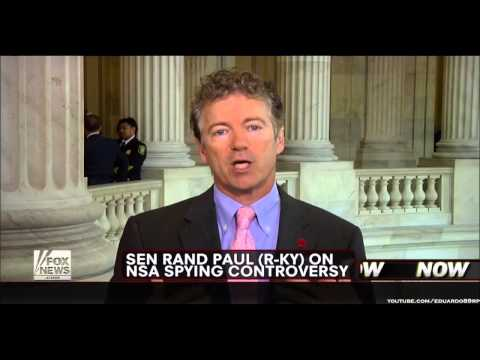 Rand Paul: NSA Says Collecting Bulk Data On Americans Is Not Spying, They've Lost Credibility