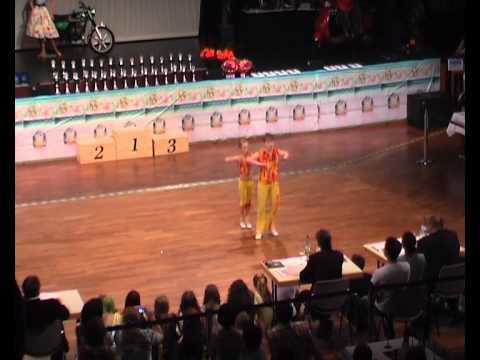 Rebekka Stahl & Marcel Ansorg - Süddeutsche Meisterschaft 2011