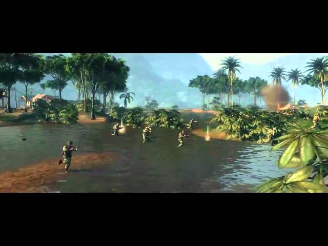 Battlefield - Bad Company 2 Vietnam Phu Bai Valley Action Trailer [HD]