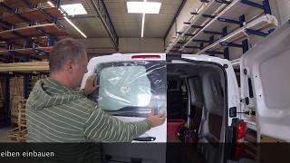 Install windows into a Van - Peugeot Expert/Citroen Jumpy/Toyota Proace